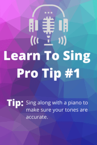 learn to sing #1