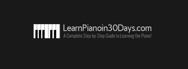 learn piano in 30 days logo