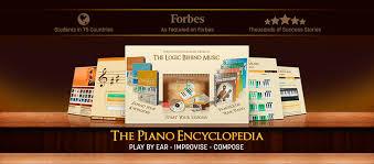 piano encyclopedia logo and product